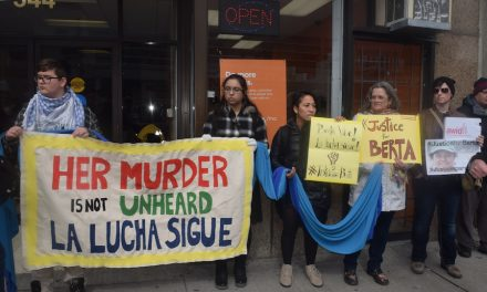Justice for Berta – send a postcard to Chrystia Freeland