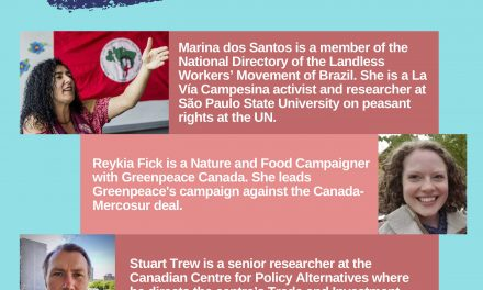 Canada – Mercosur FTA – Neoliberalism, human rights, and the environment
